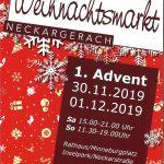 Weihnachtsmarkt in Neckargerach